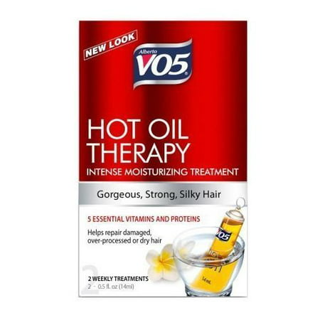 Alberto VO5 Hot Oil Therapy Conditioning Treatment 2-0.5 Fl Oz (Best Hot Oil Treatment For Dry Scalp)