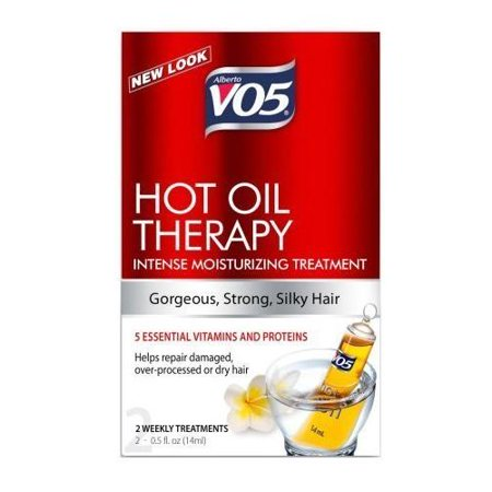 Alberto VO5 Hot Oil Therapy Conditioning Treatment 2-0.5 Fl Oz Tubes (Oil Control Treatment For Hair)