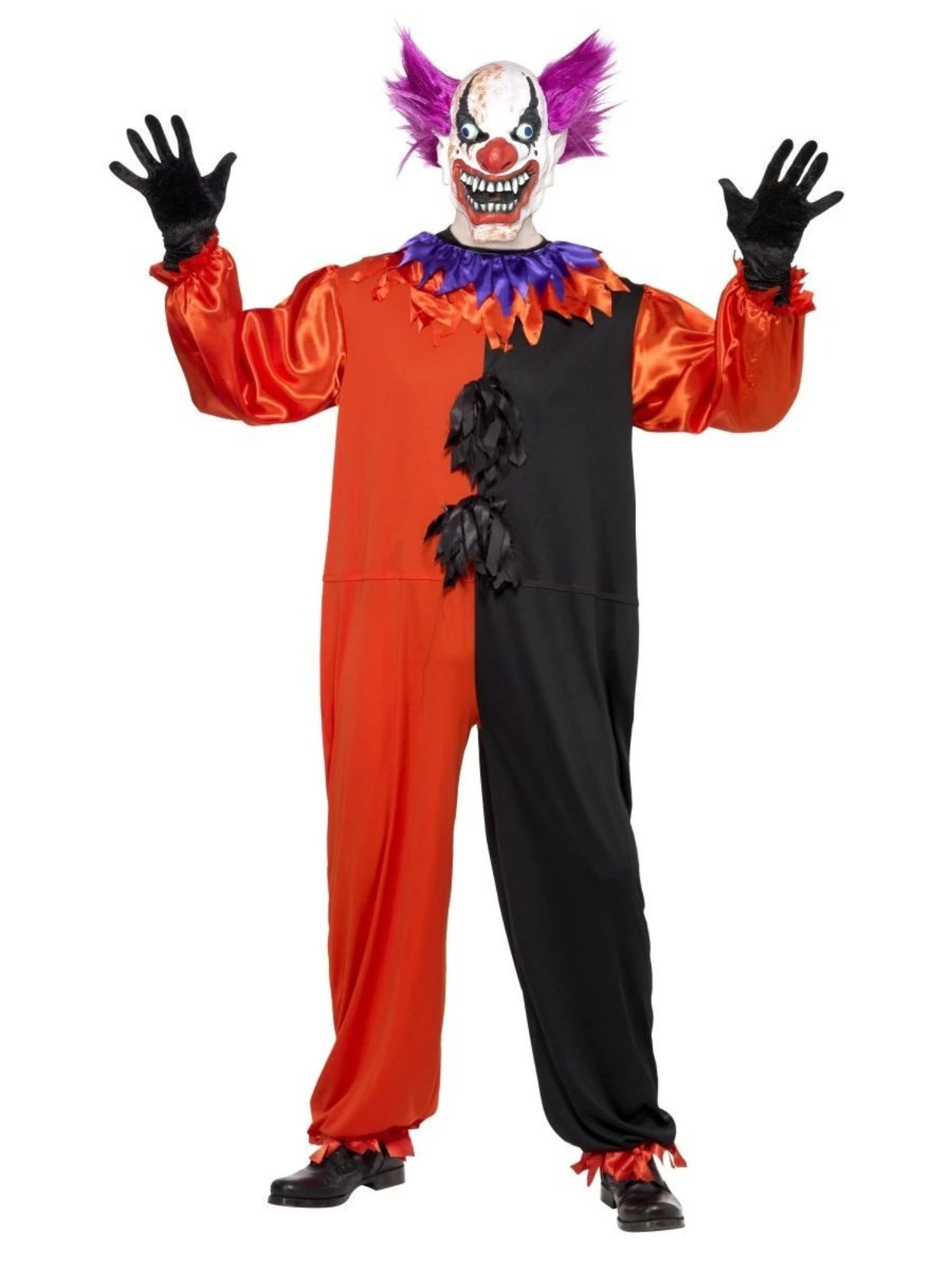 Scary Clown Mask Latex Halloween Mask Sinister/'s Love Costume Party Dress Up