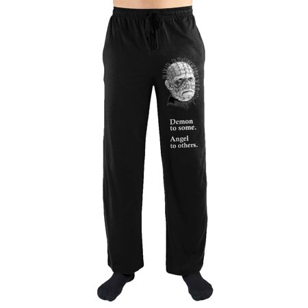 Angel Pant - Hellraiser Demon To Some Angel To Others Print Men's Loungewear Lounge Pants XX-Large