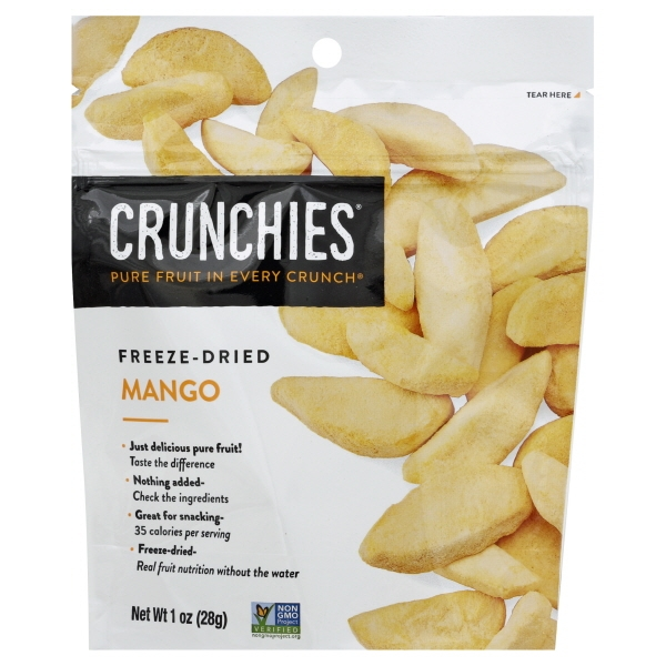 Crunchies Food Crunchies Mango, 1 oz