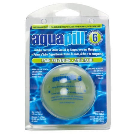 3 Pack Aquapill 6 Algae Algaecide   Stain Remover Chemical For Swimming Pools