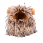 Dog and Cat Wig in Lions Mane Style w/ Cute and Soft Ears, Pet Gift