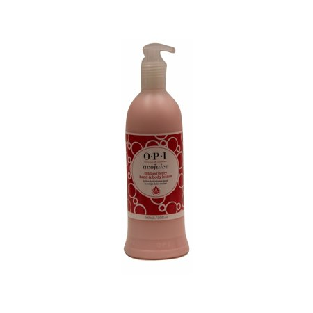 Berry Lotion (OPI Hand & Body Lotion Avojuice, Cran & Berry, 20 Fl Oz )