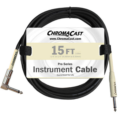 ChromaCast Pro Series Instrument Cable, Angle-Straight by Generic