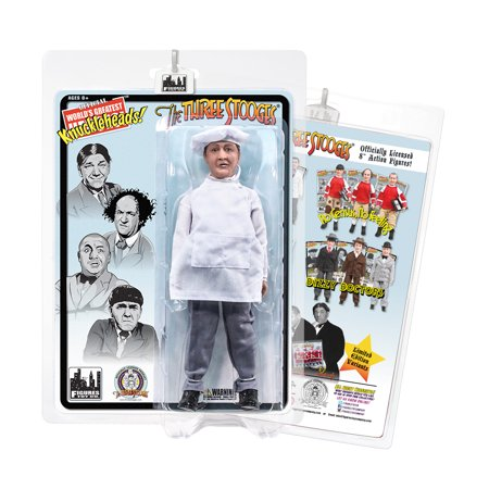 The Three Stooges 8 Inch Action Figures: Chef Curly
