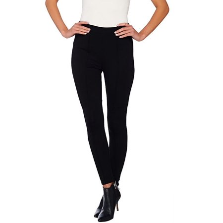 Petite Length - Joan Rivers Petite Length Pull-on Knit Legging Seam A262858