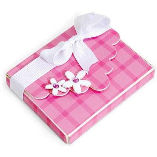 Sizzix ScoreBoards XL Die, Box With Scallop Flap & Flowers by Sizzix