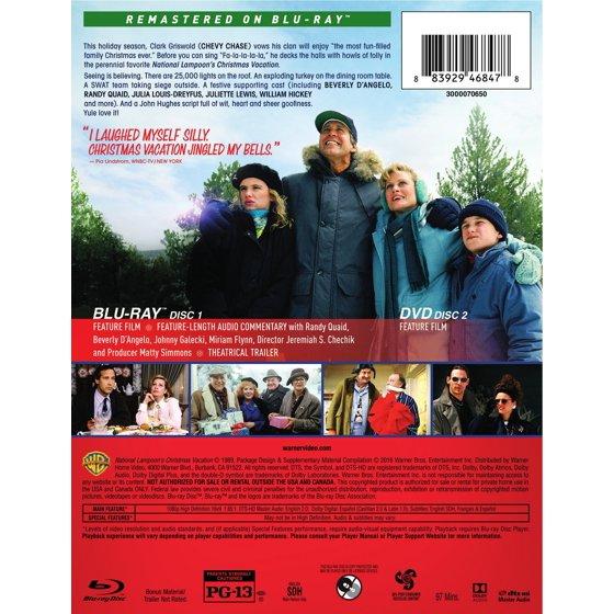 christmas vacation blu ray dvd walmartcom - Christmas Vacation 2 Trailer