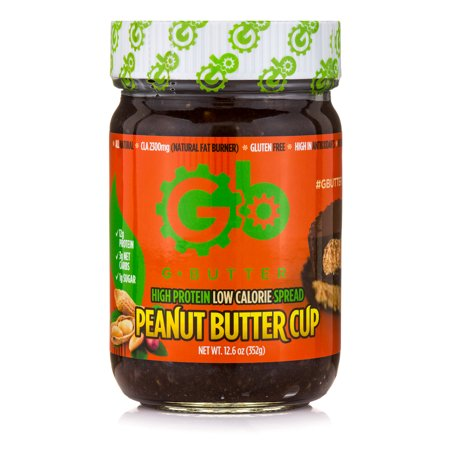 G Butter High Protein Low Calorie Spread - Peanut Butter (Best Low Fat Spread For Baking)