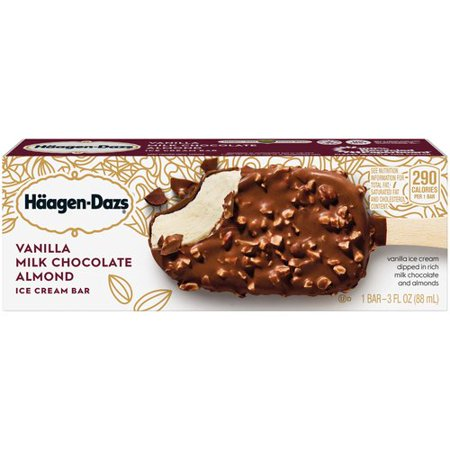 Haagen Dazs Vanilla Milk Chocolate Ice Cream Bar Ingredients