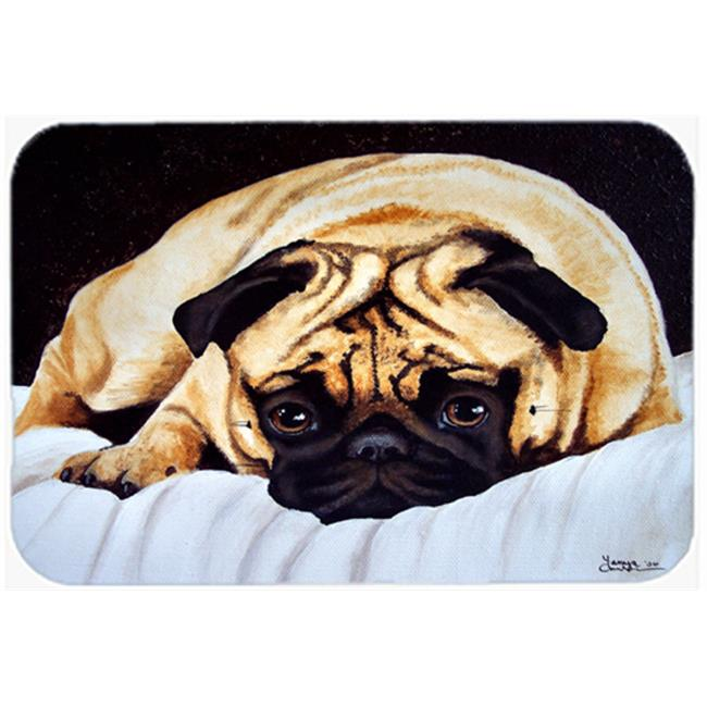 Carolines Treasures AMB1194MP Fred the Pug Mouse Pad, Hot Pad or Trivet - image 1 de 1
