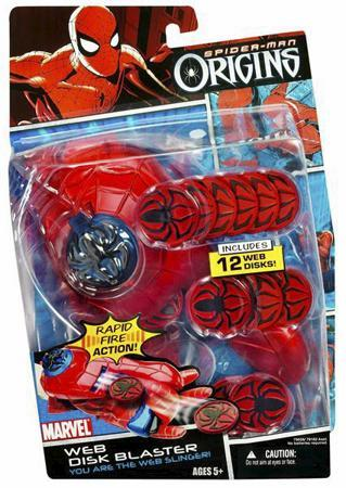 Spider-Man Origins Web Disk Blaster by
