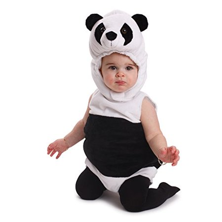 dress up america cuddly baby panda bear costume infant outfit halloween costume. Black Bedroom Furniture Sets. Home Design Ideas