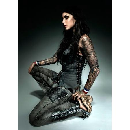 (27x40) Kat Von D Poster tattoos Entertainment