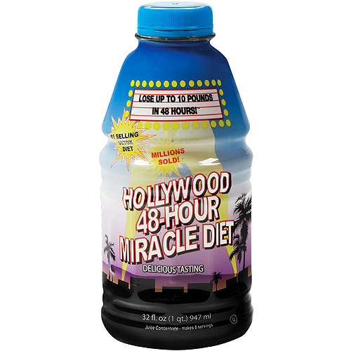 Hollywood 48-Hour Miracle Diet, 32 fl oz