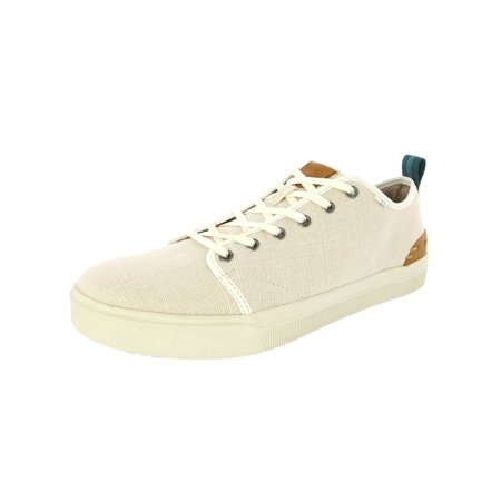 Rack Tom Birch Shell - Toms Men's Travel Lite Low Heritage Canvas Birch Ankle-High Fabric Fashion Sneaker - 9.5M