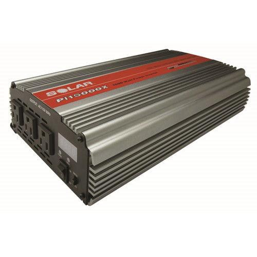 Clore SOLAR PI-15000X 1,500 Watt Triple Outlet Power Inve...