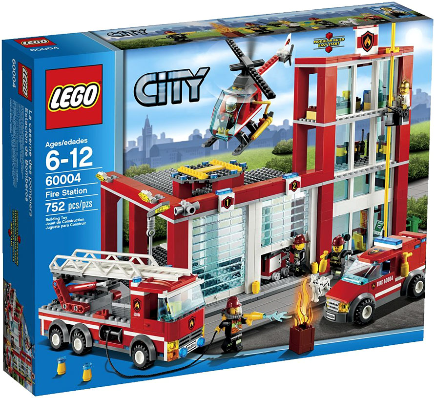 LEGO City Fire Station Play Set