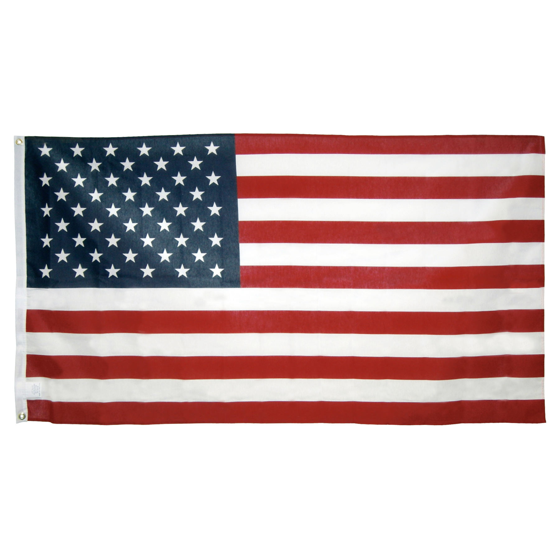 3ft x 5ft Poly Cotton American Flag U.S. Made by Online Stores