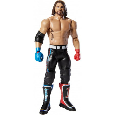 WWE Top Picks Aj Styles 6-Inch Action Figure with Life-Like (Wwe Omg Top 50 Incidents In Wwe History)