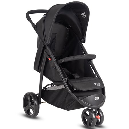 Baby Joy Portable 3 Wheel Folding Baby Stroller Kids Travel Pushchair Newborn Black