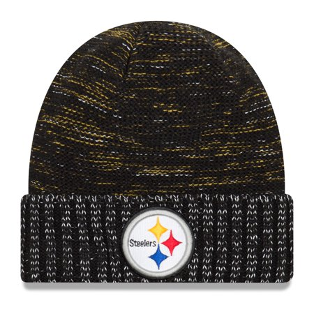 Pittsburgh Steelers Colors (Pittsburgh Steelers New Era 2017 Color Rush Knit Hat - Black -)