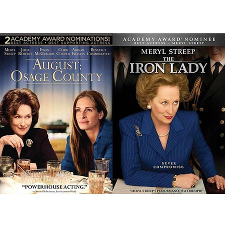 August  Osage County   The Iron Lady  Widescreen