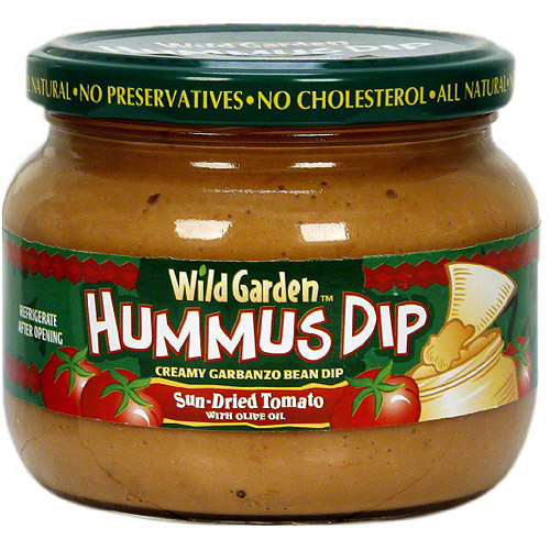 Wild Garden Sun Dried Tomato With Olive Oil Hummus, 10.74 oz (Pack of 6)