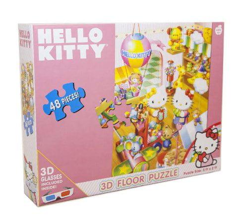 Hello Kitty 3-D Floor Puzzle by Sanrio