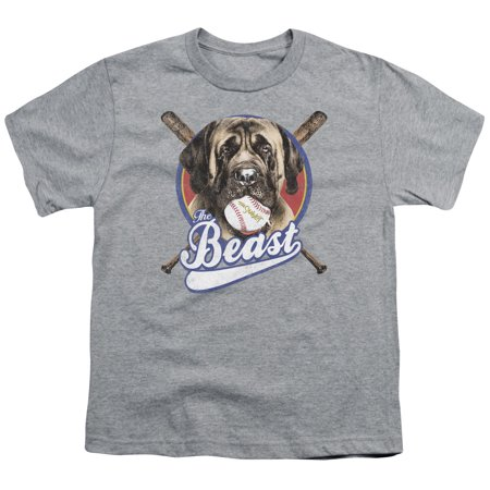 Sandlot The Beast Big Boys Shirt Athletic Heather ()