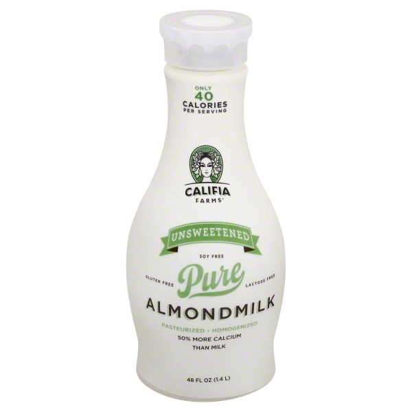 Califia Farms Unsweetened Pure Almond Milk - 48 fl oz
