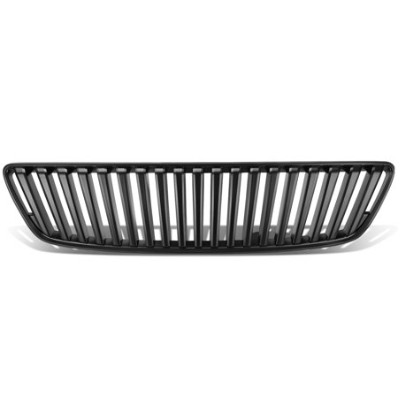 For 1998 to 2005 GS300 GS430 ABS Plastic Vertical Billet Fence Style Front Grille (Black) - 2nd Gen S160 00 01 02 03 04