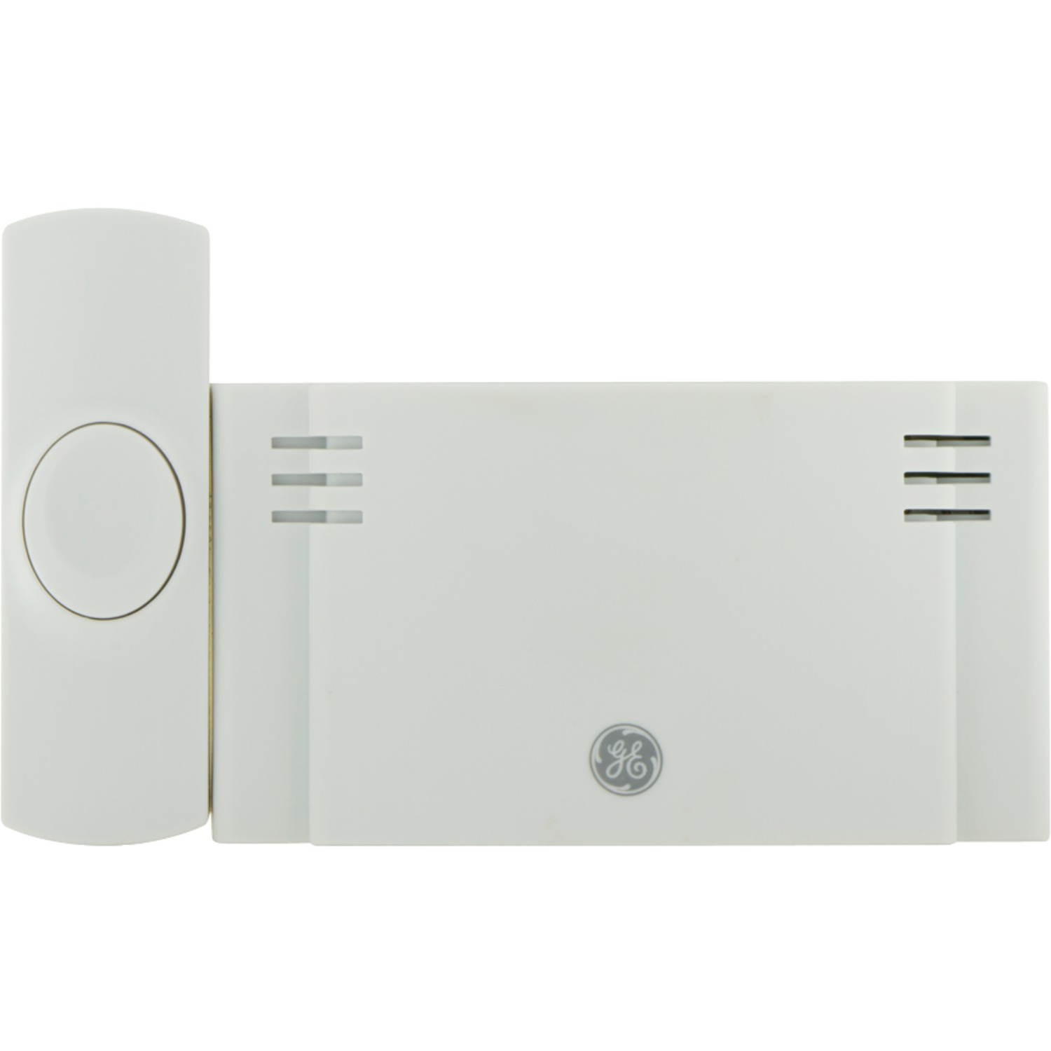 GE Wireless Doorbell Kit, 2 Chime Melodies, 1 Receiver, 1 Push Buttons,