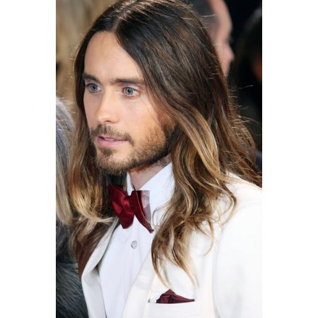 Jared Leto At Arrivals For The 86Th Annual Academy Awards - Arrivals 1 - Oscars 2014 Canvas Art -  (16 x - Jared Leto Tattoo