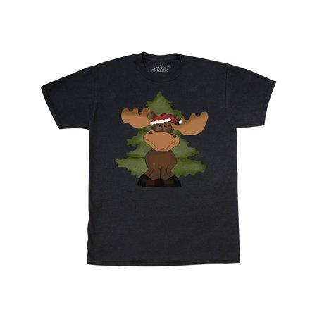 christmas moose tree T-Shirt