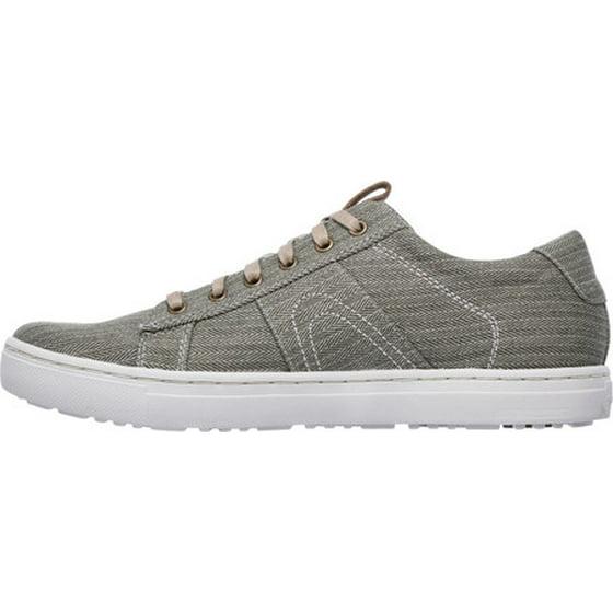 Mens Skechers Alven Manto Memory Foam Sneaker Olive