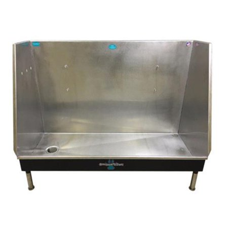 Groomers Best GB58WI-TA-R 58 in. Walk-in Tub with Right Drain -