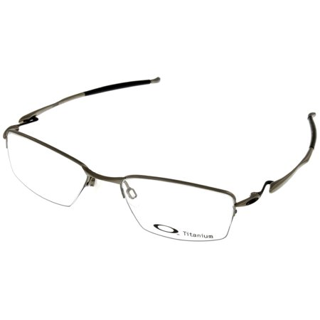 904080b4f80 Oakley Lizard Prescription Eyewear Frame Mens Titanium Semi-Rimless Brushed  Chrome OX5113 5118 0351 - Walmart.com
