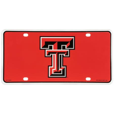 Texas Tech Red Raiders License (Texas Tech Logo Plate)