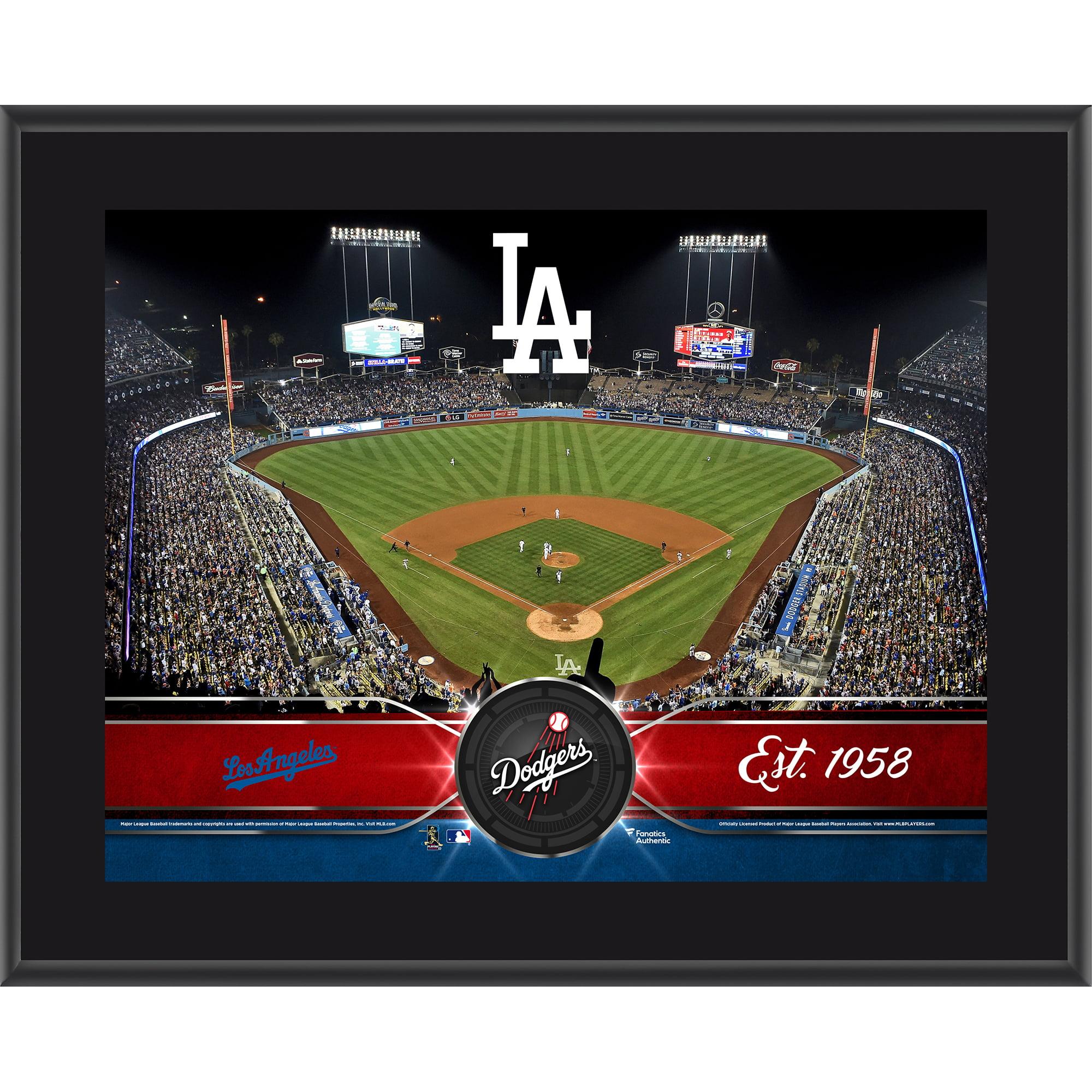 """Los Angeles Dodgers Fanatics Authentic 10.5"""" x 13"""" Sublimated Team Plaque - No Size"""