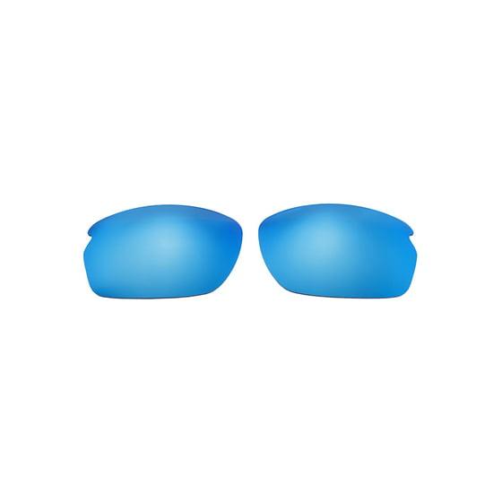 43059d5ad0 Walleva - Walleva Ice Blue Polarized Replacement Lenses for Oakley ...