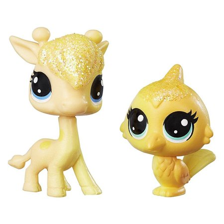 Giraffe Lion Bird - Littlest Pet Shop Giraffe N Bird