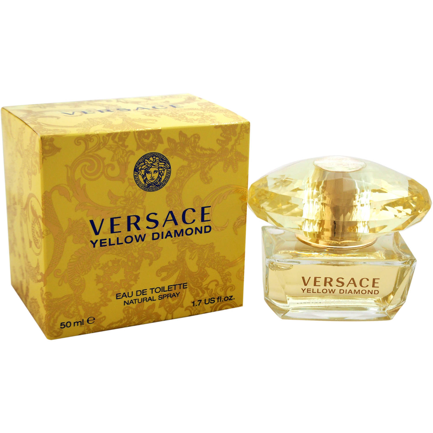 Versace Yellow Diamond for Women Eau de Toilette, 1.7 oz