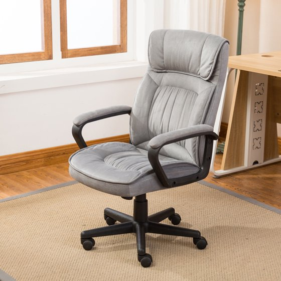 Belleze Executive Office Chair High Back Microfiber Padded