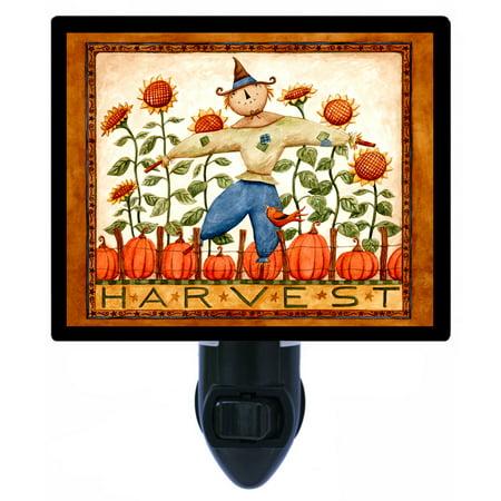 Night Light - Photo Light - Harvest - Scarecrow - Fall - Autumn