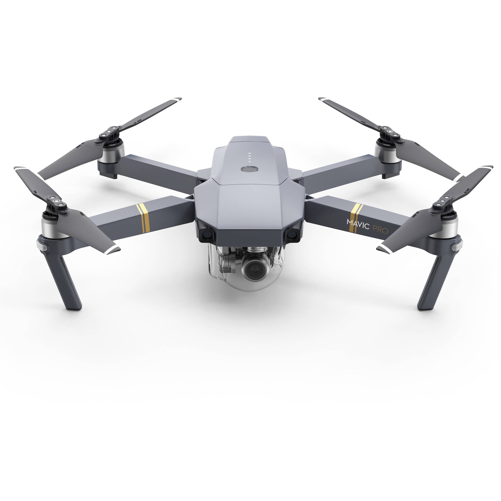 Dji Mavic Pro Quadcopter Drone With Remote Controller, Gray by DJI