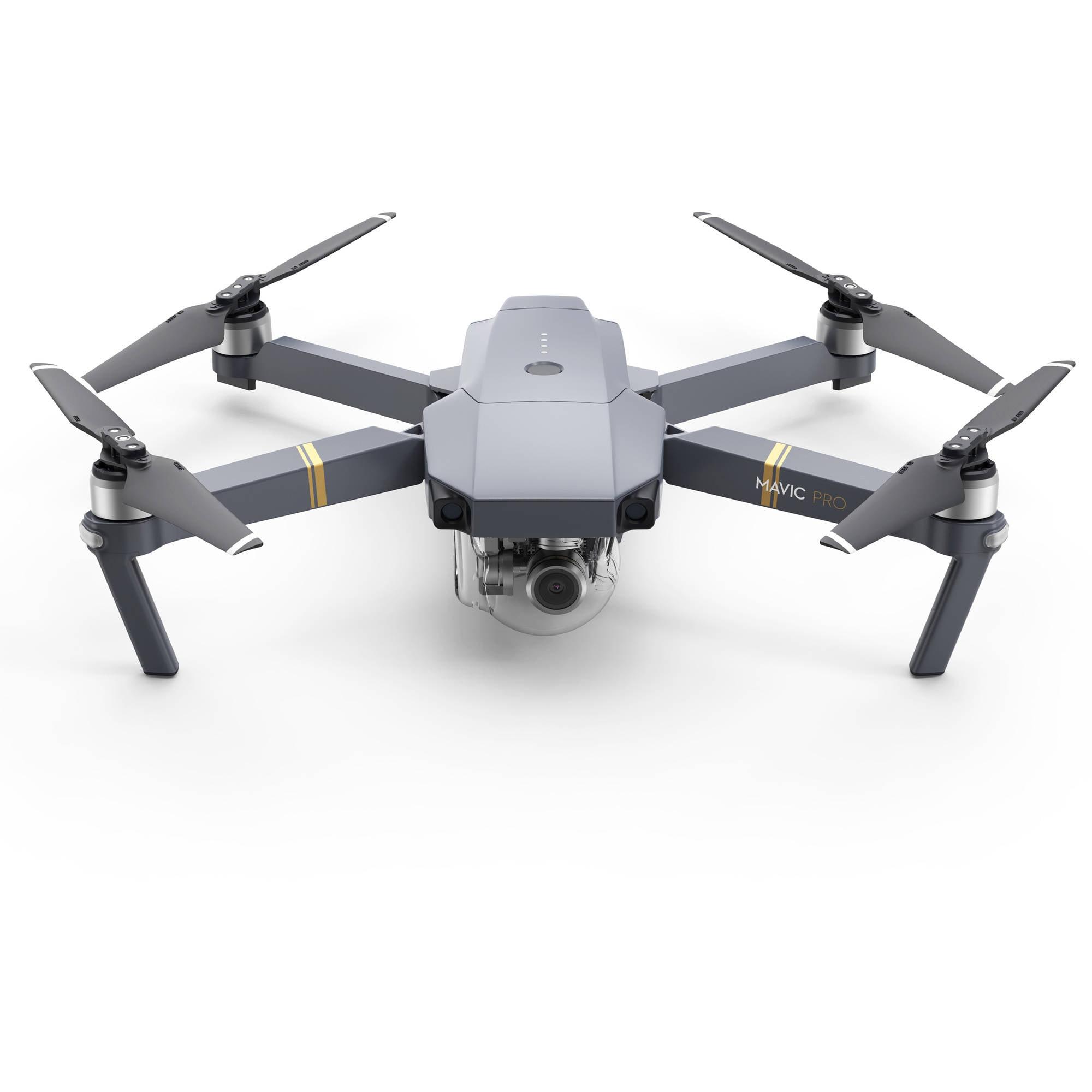 Dji Mavic Pro Quadcopter Drone With Remote Controller, Gray