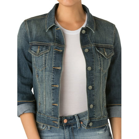 Custom Denim Jacket - Women's Trucker Denim Jacket