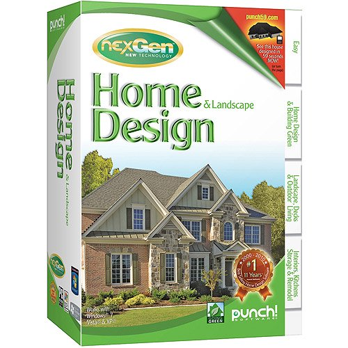 Punch Home And Landscape Design Studio 2011 Pc Walmart Com